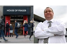 mike ashley x house of fraser