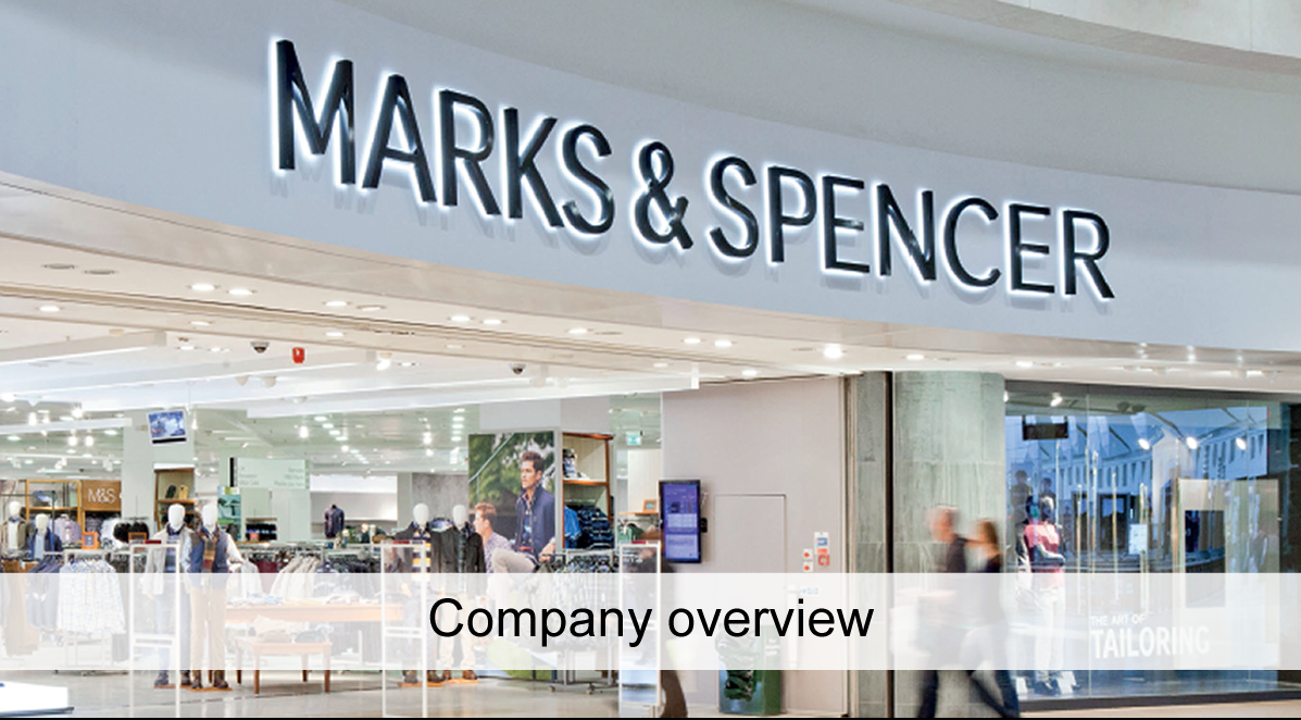 Marks and Spencer company overview
